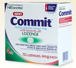 commit lozenges stop smoking