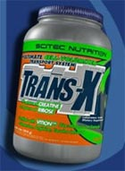 scitec trans-x creatine supplement